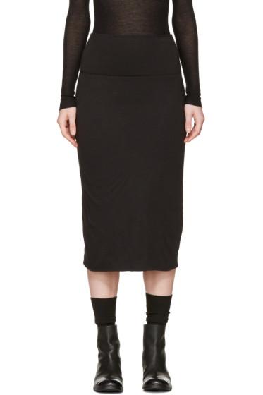 Raquel Allegra - Black Tube Skirt