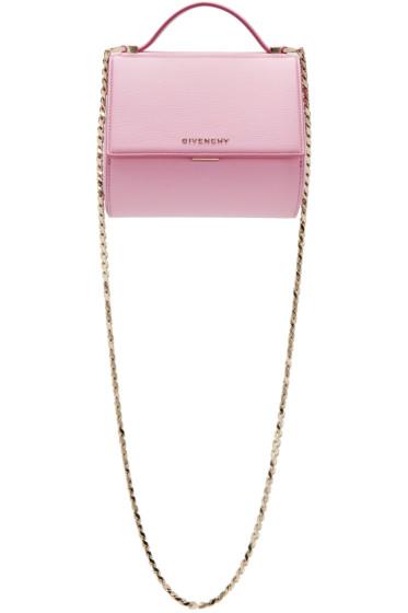 Givenchy - Pink Mini Pandora Box Chain Bag