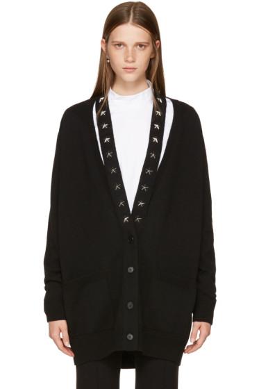 Givenchy - Black Cashmere Stars Cardigan