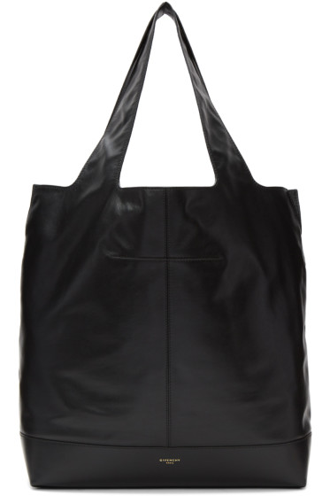 Givenchy - Black George V Leather Tote