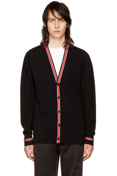 Givenchy - Black Iconic Band Cardigan
