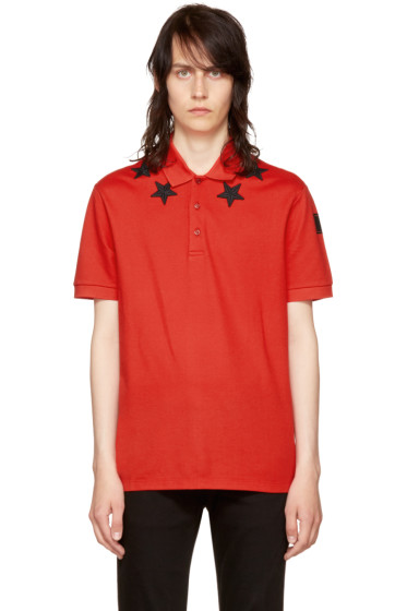 Givenchy - Red Stars Polo