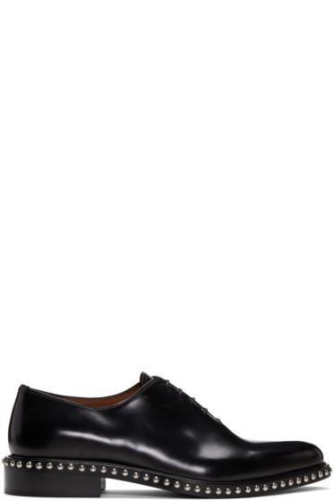 Givenchy - Black Studs Derbys