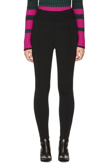 Proenza Schouler - Black Knit Leggings