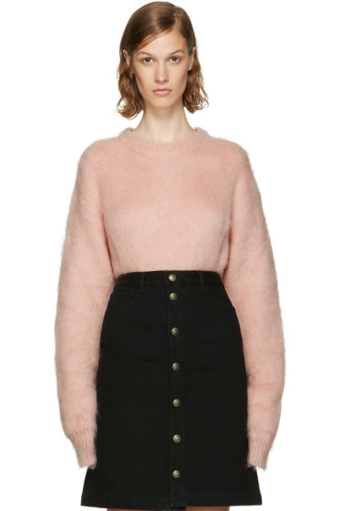 Carven - Pink Mohair Sweater