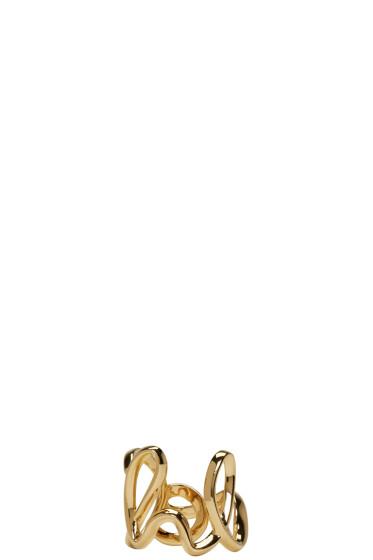 Chloé - Gold 'Love' Ring