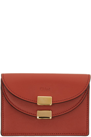 Chloé - Red Georgia Card Holder