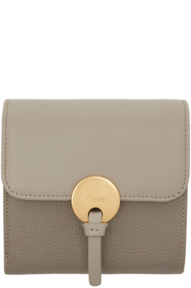 Chloé - Grey Square Indy Wallet