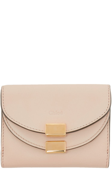 Chloé - Pink Mini Georgia Wallet