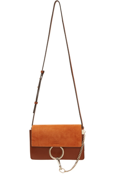 Chloé - Brown Small Faye Bag
