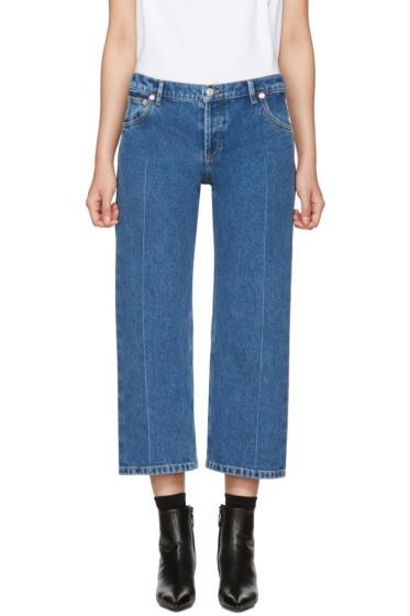 Balenciaga - Indigo Rockabilly Jeans