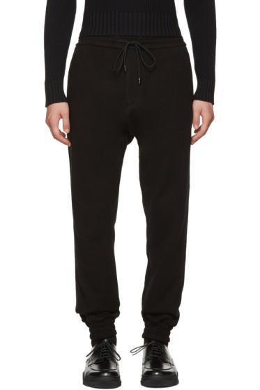 Juun.J - Black Drop Lounge Pants