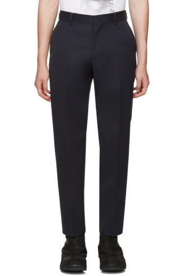Juun.J - Navy Wool Trousers