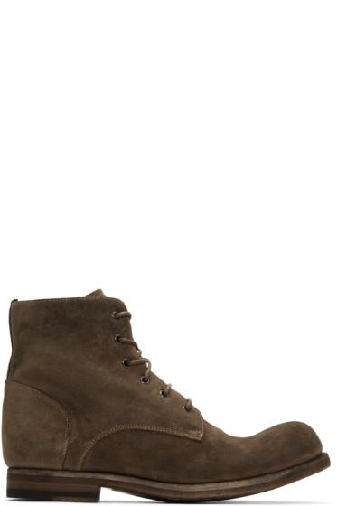 Officine Creative - Brown Bubble 03 Boots