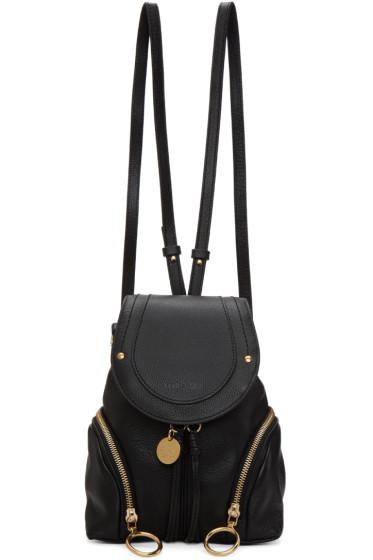 See by Chloé - Black Olga Backpack