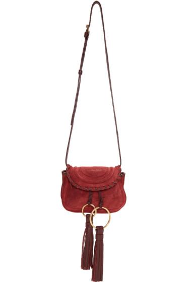 See by Chloé - Burgundy Mini Polly Bag