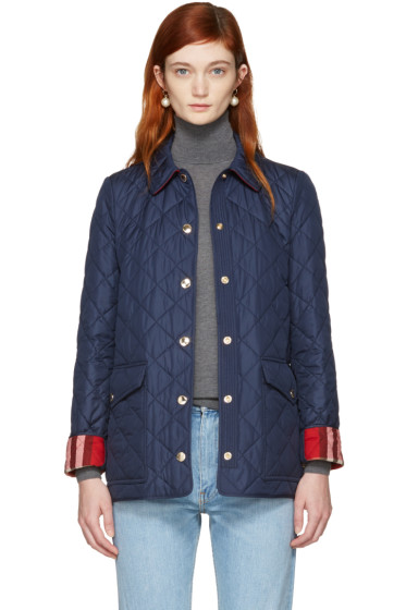 Burberry - Navy Westbridge Jacket
