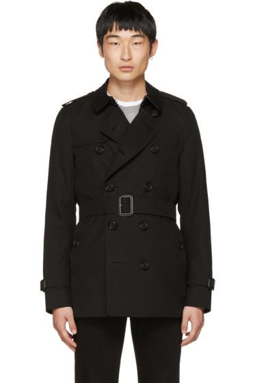 Burberry - Black Sandringham Short Trench Coat