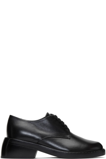 Ann Demeulemeester - Black Leather Oxfords