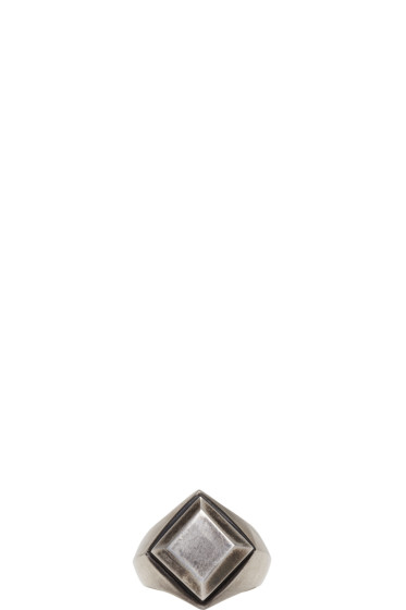 Ann Demeulemeester - Silver Signet Ring