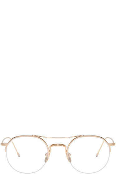 Thom Browne - Gold TB-903 Glasses