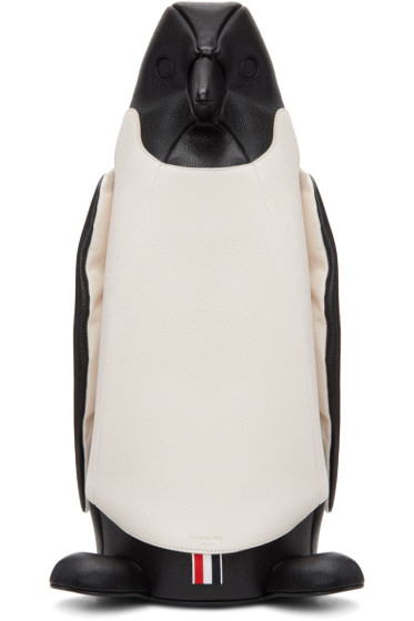 Thom Browne - Black & White Penguin Tote