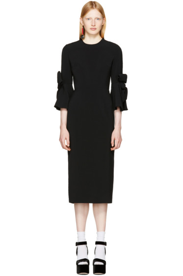 Roksanda - Black Lavete Dress