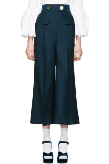 Roksanda - Green Hasani Trousers