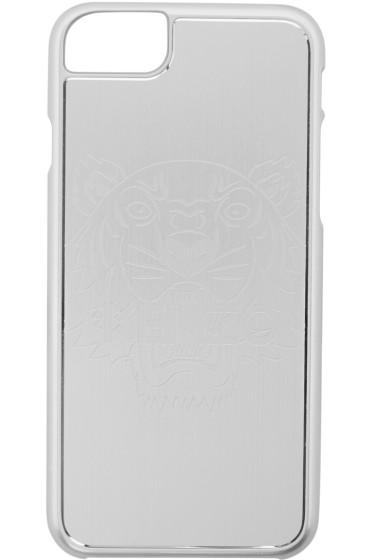 Kenzo - Silver Tiger iPhone 7 Case