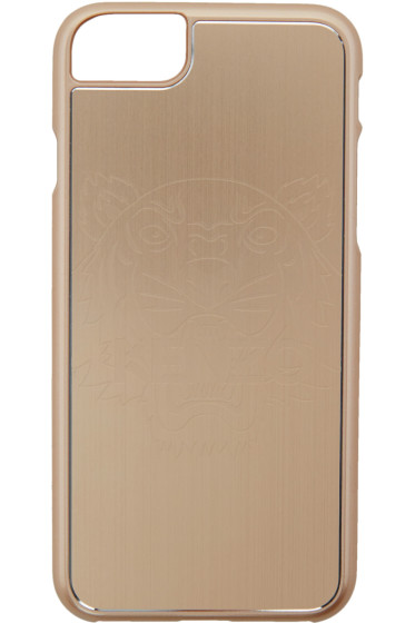 Kenzo - ゴールド タイガー iPhone 7 ケース