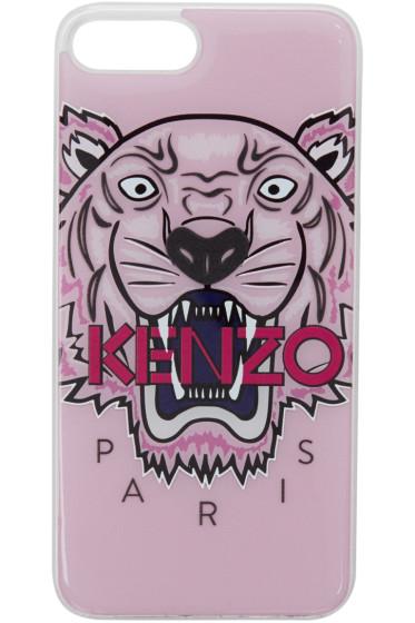 Kenzo - ピンク 3D タイガー iPhone 7+ ケース
