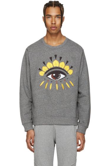 Kenzo - Grey Eye Sweatshirt