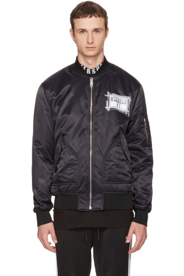 Versus - Black Zayn Edition Patch Bomber Jacket