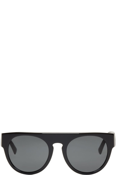 Versace - Black Rock Greca Sunglasses