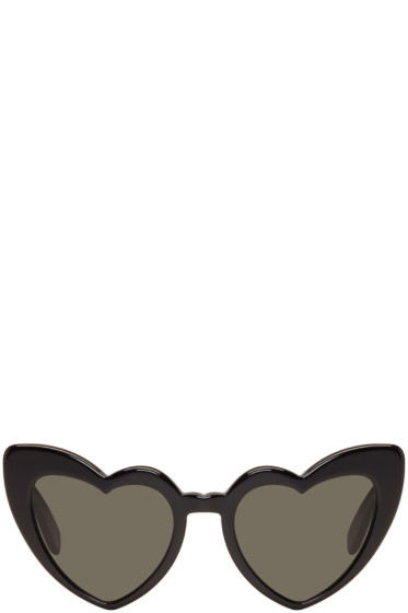 Saint Laurent - Black SL 181 Lou Lou Sunglasses