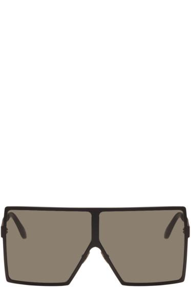 Saint Laurent - Black SL 182 Betty Shield Sunglasses