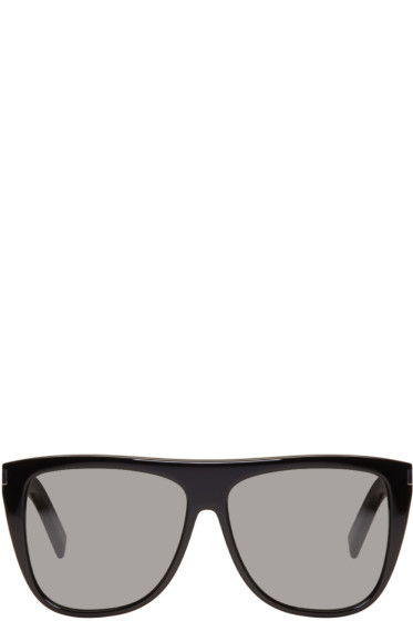Saint Laurent - Black SL 01 Sunglasses