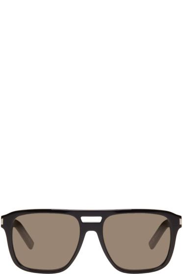 Saint Laurent - Black SL 87 Sunglasses