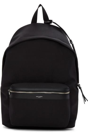 Saint Laurent - Black City Backpack