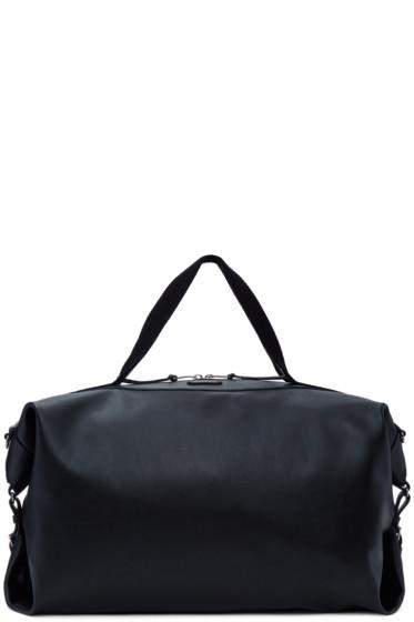 Saint Laurent - Black Large Leather ID Convertible Bag