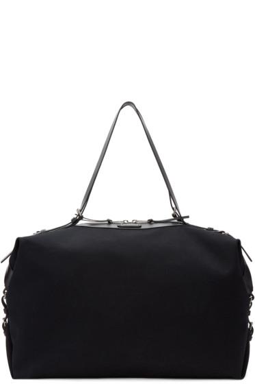 Saint Laurent - Black Large Canvas ID Convertible Bag