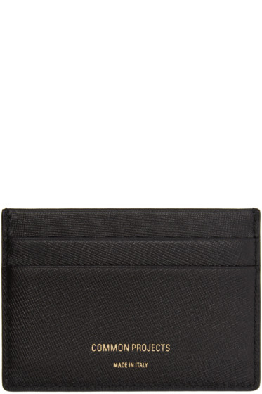 Woman by Common Projects - Black Multi Card Holder