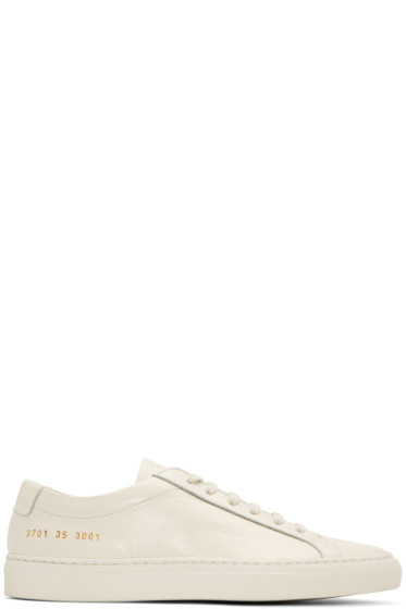 Woman by Common Projects - オフホワイト オリジナル アキレス ロー スニーカー