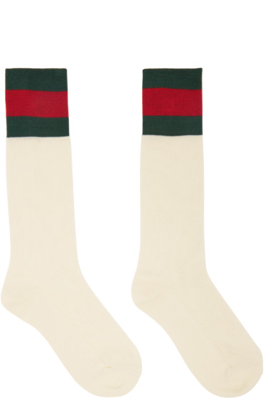 Gucci - Off-White Suzanne Socks