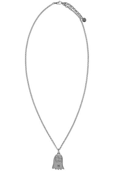 Gucci - Silver GucciGhost Necklace