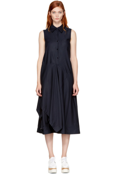Stella McCartney - Navy Willow Shirt Dress