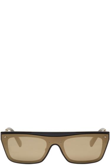 Valentino - ブラック グラムグロス サングラス