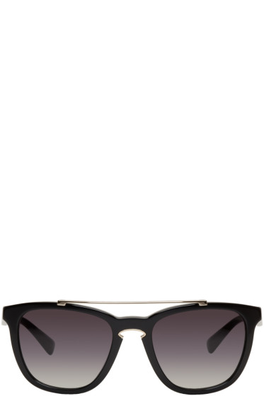 Valentino - Black Rock Loop Sunglasses