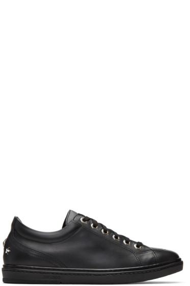Jimmy Choo - Black Stars Cash Sneakers