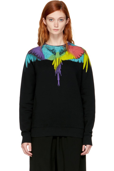 Marcelo Burlon County of Milan - Black Neurk Sweatshirt